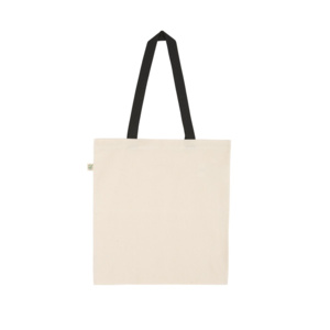 EarthPositive Heavy Shopper Contrast Tote Thumbnail