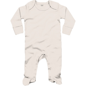 BabyBugz Baby Organic Sleepsuit with Mitts Thumbnail