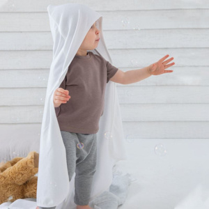 Baby organic hooded blanket Thumbnail